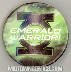 Green Lantern Movie Pin - Emerald Warrior! - FREE - Limit 1 Per Customer