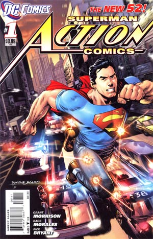 Action Comics Vol 2 #1 1st Ptg Regular Rags Morales Cover