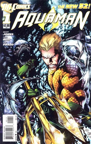 Aquaman Vol 5 #1 1st Ptg