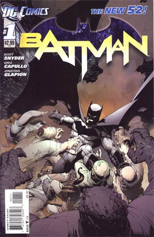 Batman Vol 2 #1  1st Ptg Regular Greg Capullo Cover