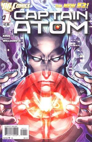 Captain Atom Vol 3 #1 1st Ptg
