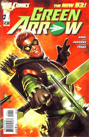 Green Arrow Vol 6 #1 1st Ptg