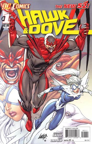 Hawk And Dove Vol 5 #1 1st Ptg