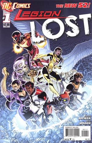 Legion Lost Vol 2 #1 1st Ptg
