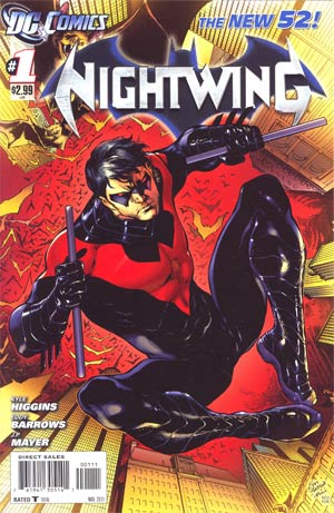 Nightwing Vol 3 #1 1st Ptg