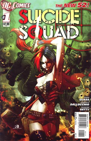 Suicide Squad Vol 3 #1 1st Ptg