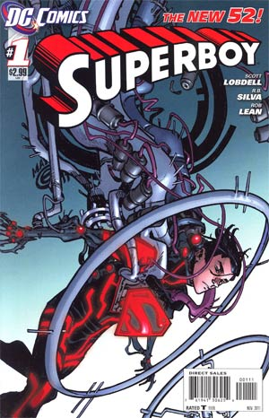 Superboy Vol 5 #1 1st Ptg