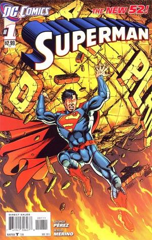 Superman Vol 4 #1 1st Ptg