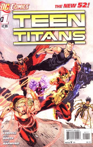 Teen Titans Vol 4 #1 1st Ptg