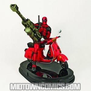 Deadpool Statue By Gentle Giant Studios