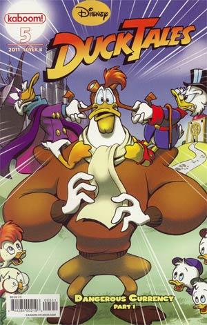 Ducktales Vol 3 #5 Cvr B