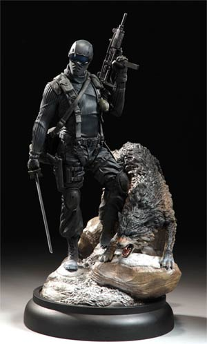 GI Joe Snake Eyes And Timber Statue