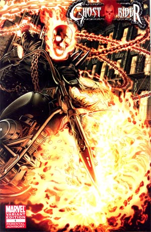 Ghost Rider Vol 6 #1 Incentive Arturo Lozzi Variant Cover (Fear Itself Tie-In)