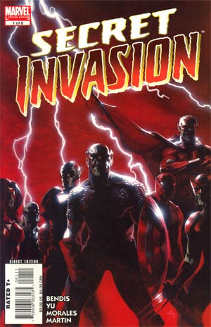 Secret Invasion Mini-Series Complete 8-Issue Set