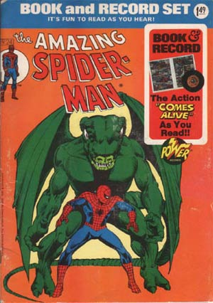 Power Record Comics #24 Spider-Man II With Record