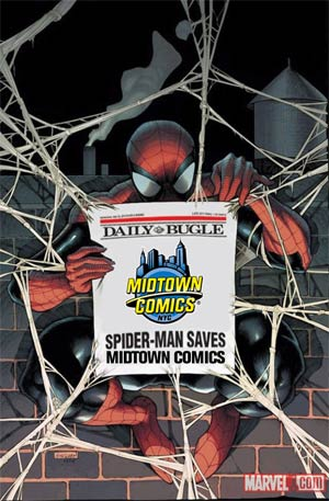 Amazing Spider-Man Vol 2 #666 Midtown Exclusive Daily Bugle Variant Cover (Spider-Island Prelude)