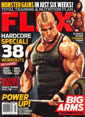 Flex Magazine Vol 29 #6 Aug 2011