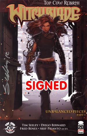 Witchblade #151 Foil Stamped & Signed Edition