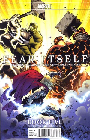 Fear Itself #5 Incentive Stuart Immonen Variant Cover
