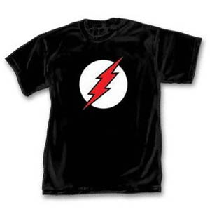Black Flash Symbol T-Shirt Large