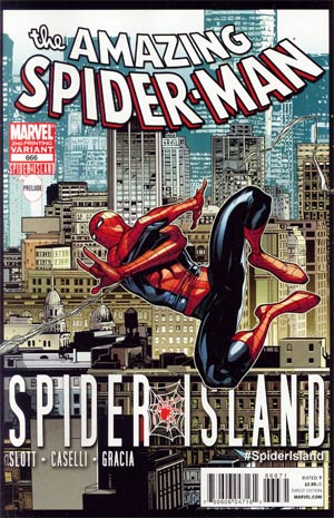 Amazing Spider-Man Vol 2 #666 Cover D 2nd Ptg Humberto Ramos Variant Cover (Spider-Island Prelude)
