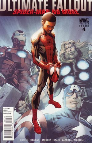 Ultimate Comics Fallout #4 2nd Ptg Mark Bagley Variant Cover (Death Of Spider-Man Tie-In)