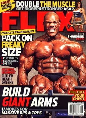 Flex Magazine Vol 29 #7 Sep 2011