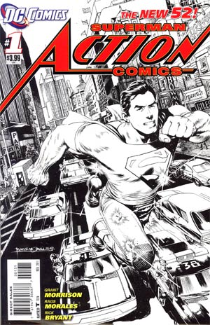 Action Comics Vol 2 #1 Cover C Incentive Rags Morales Sketch Cover