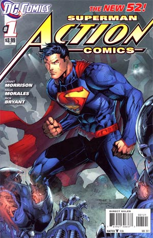 Action Comics Vol 2 #1 Cover B Variant Jim Lee Cover