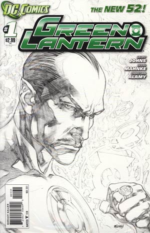 Green Lantern Vol 5 #1 Incentive Ivan Reis Sketch Cover