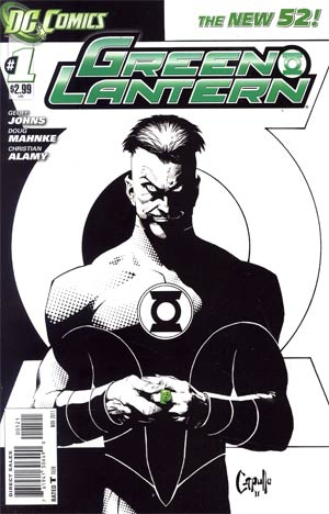 Green Lantern Vol 5 #1 Variant Greg Capullo Cover