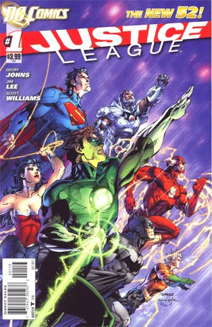 Justice League Vol 2 #1 3rd Ptg