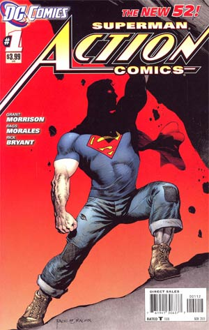 Action Comics Vol 2 #1 2nd Ptg