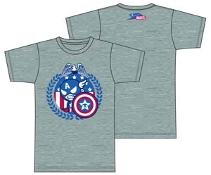 tokidoki x Marvel Star Spangled Gray T-Shirt Large