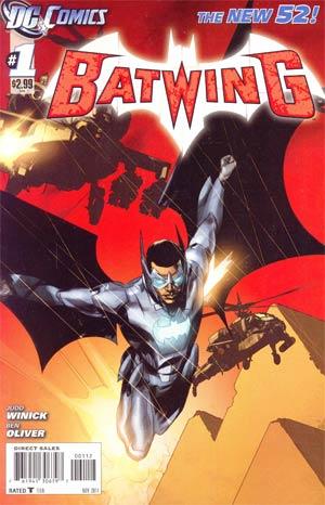 Batwing #1 2nd Ptg
