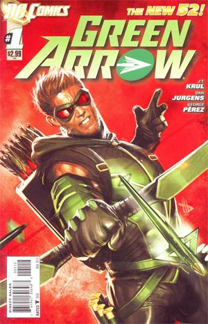 Green Arrow Vol 6 #1 2nd Ptg