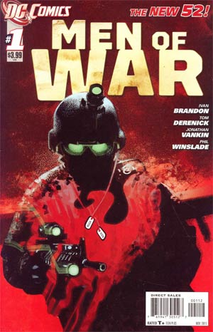 Men Of War Vol 2 #1 2nd Ptg