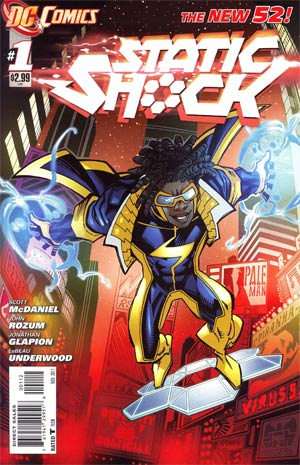 Static Shock #1 2nd Ptg