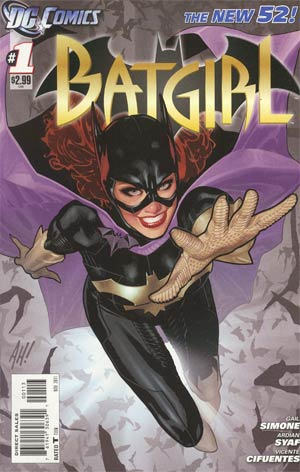 Batgirl Vol 4 #1 Cover C 3rd Ptg
