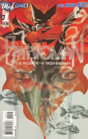 Batwoman #1 2nd Ptg