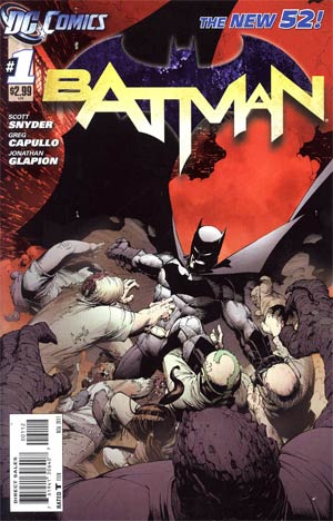 Batman Vol 2 #1 2nd Ptg