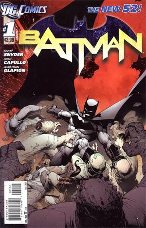 Batman Vol 2 #1 2nd Ptg