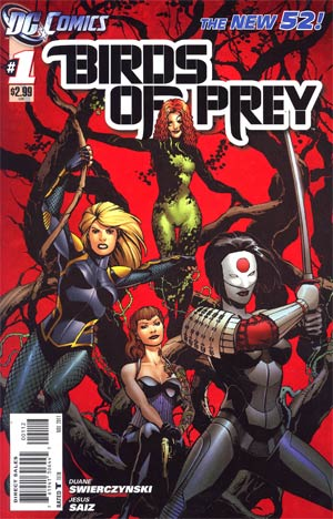 Birds Of Prey Vol 3 #1 2nd Ptg