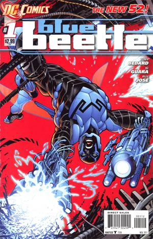 Blue Beetle Vol 8 #1 2nd Ptg