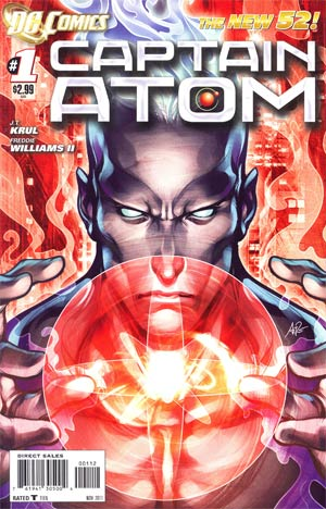 Captain Atom Vol 3 #1 2nd Ptg