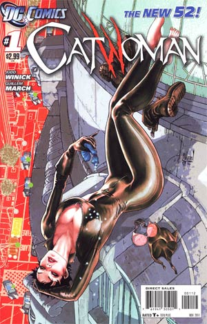 Catwoman Vol 4 #1 2nd Ptg