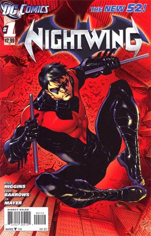 Nightwing Vol 3 #1 2nd Ptg