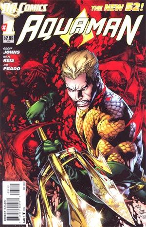 Aquaman Vol 5 #1 2nd Ptg