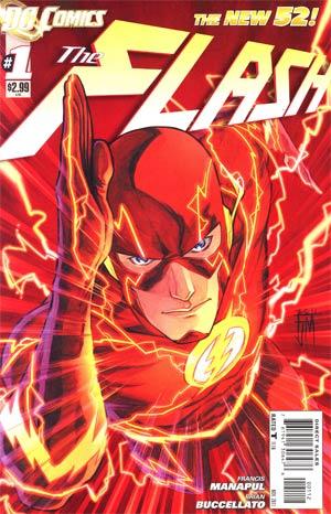 Flash Vol 4 #1 2nd Ptg