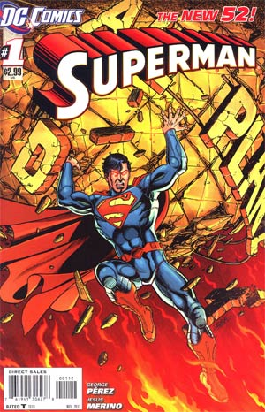 Superman Vol 4 #1 2nd Ptg